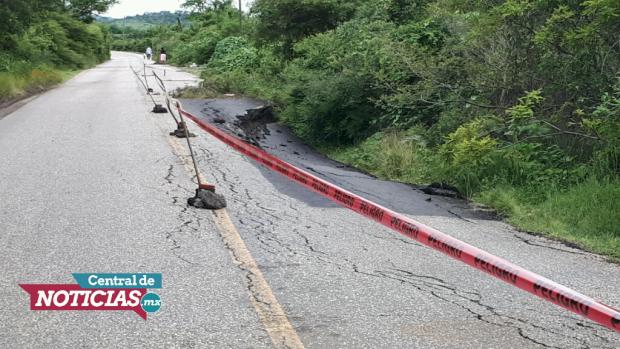 Desgaja carretera en oriente