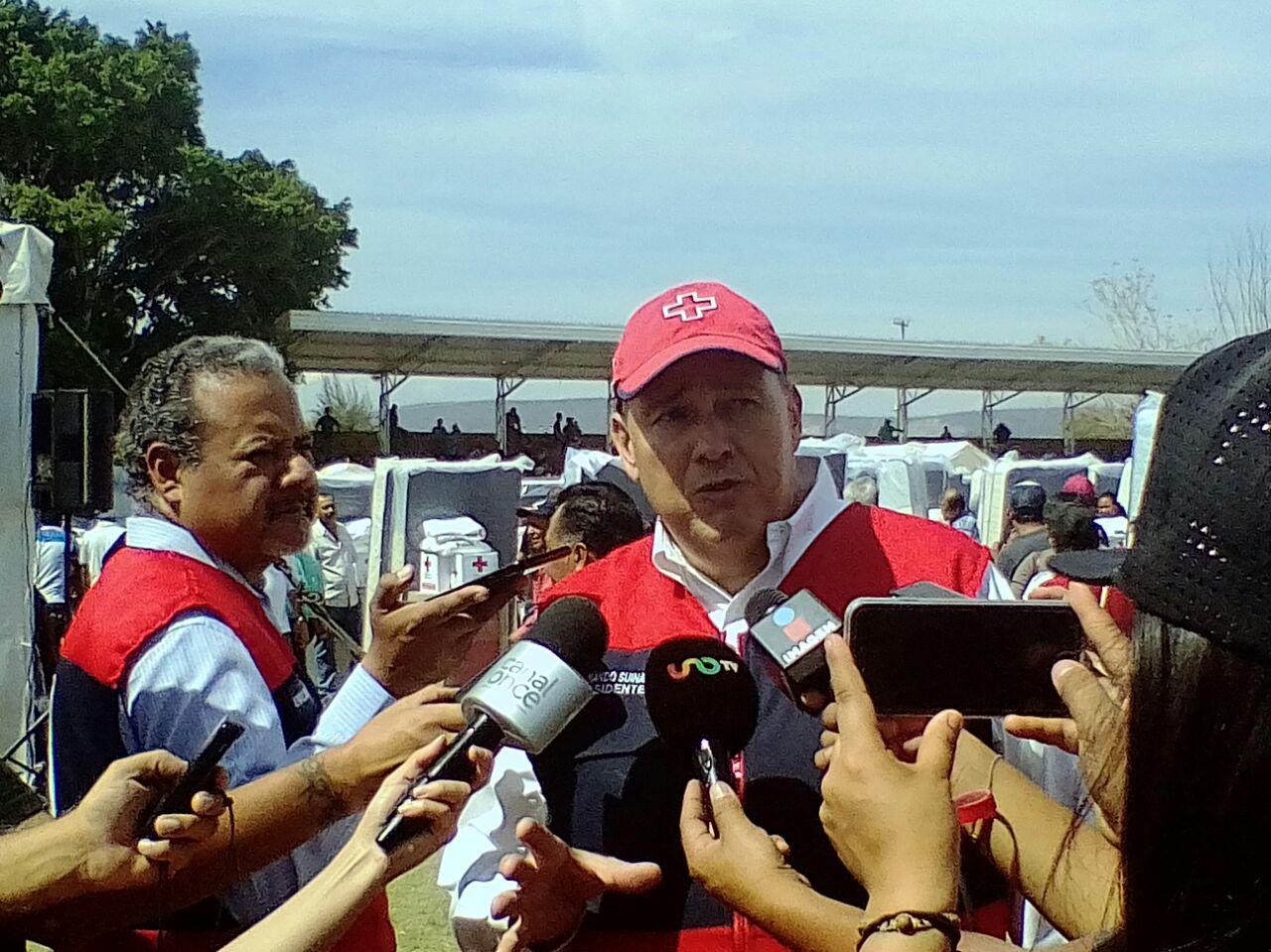 Fernando Suinaga Cárdenas Cruz Roja CR