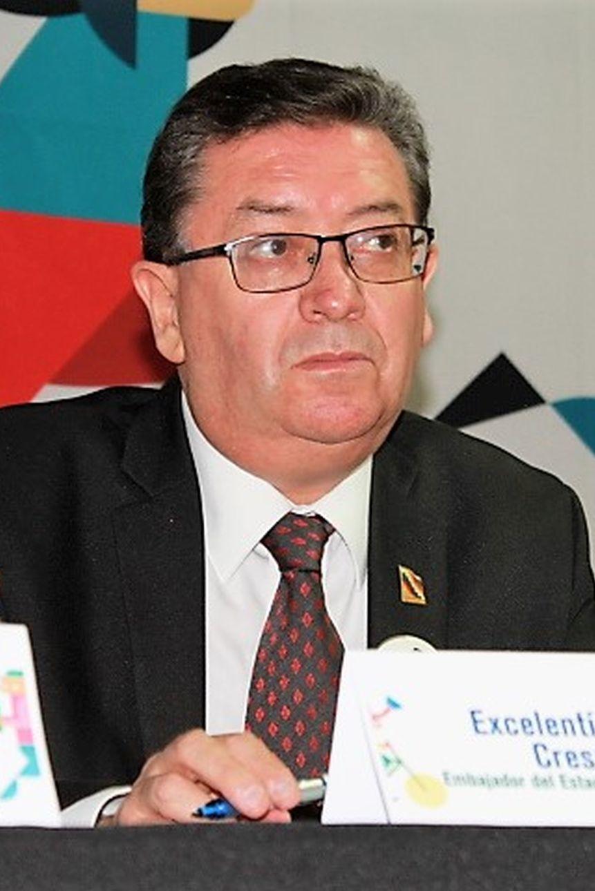José Crespo Fernández, embajador
