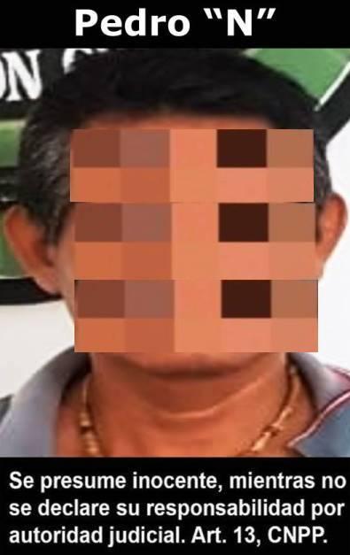 Pedro N. 45 años. Aprehensión por violación