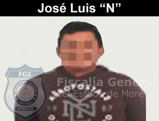 José Luis. Sentenciado por violación