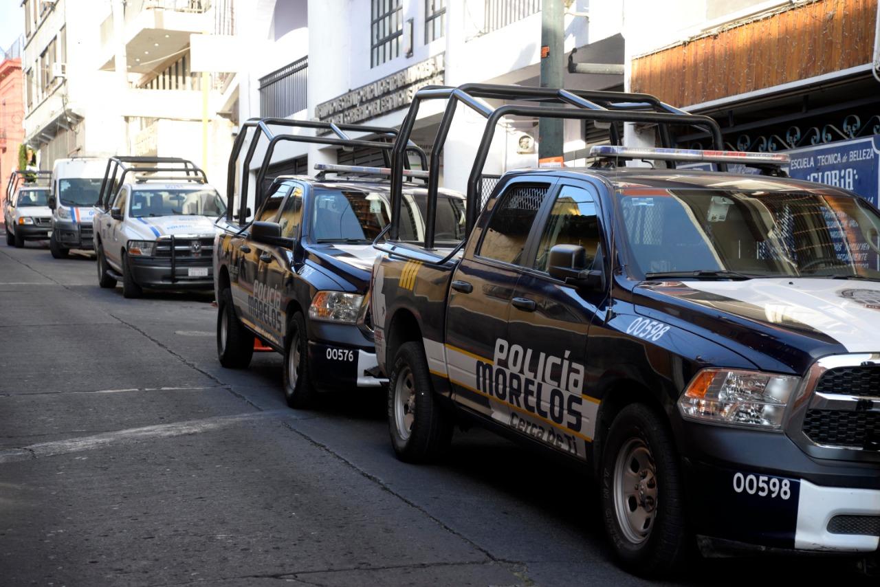 Patrullas caminoestas policia mor