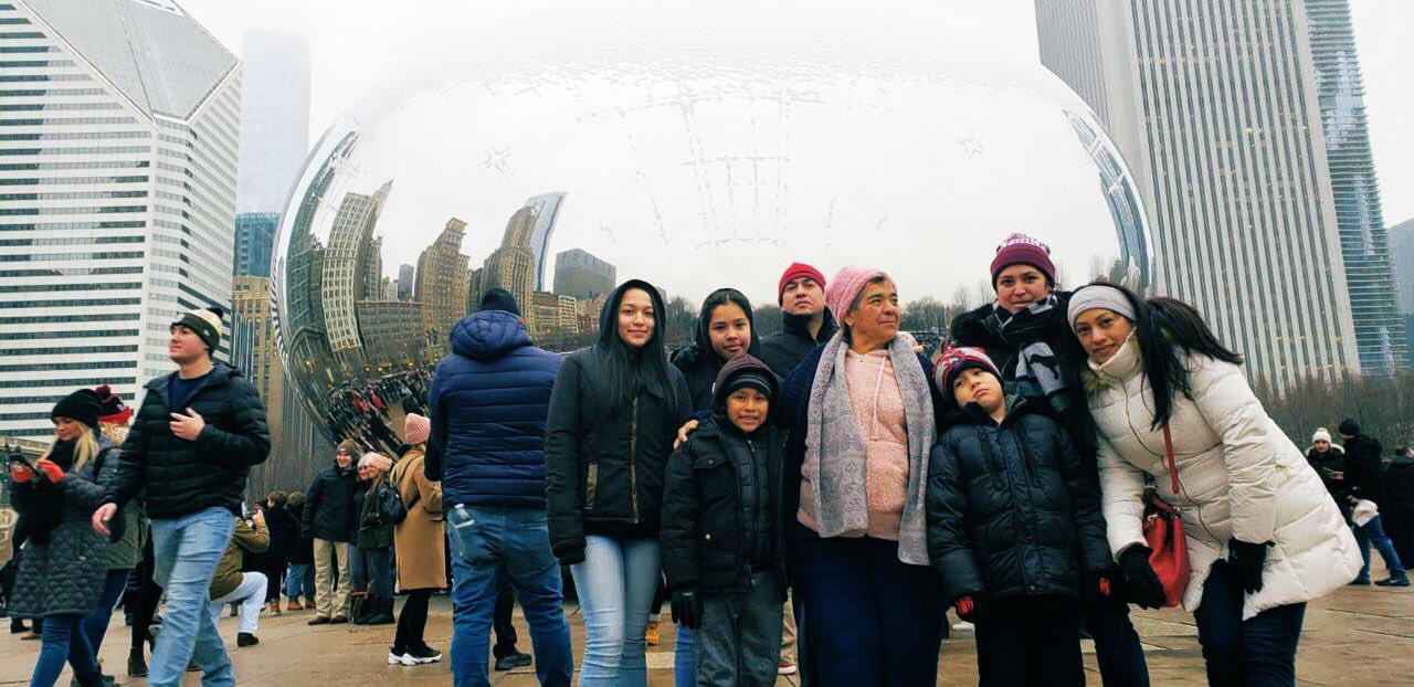 Familias migrantes en EUA