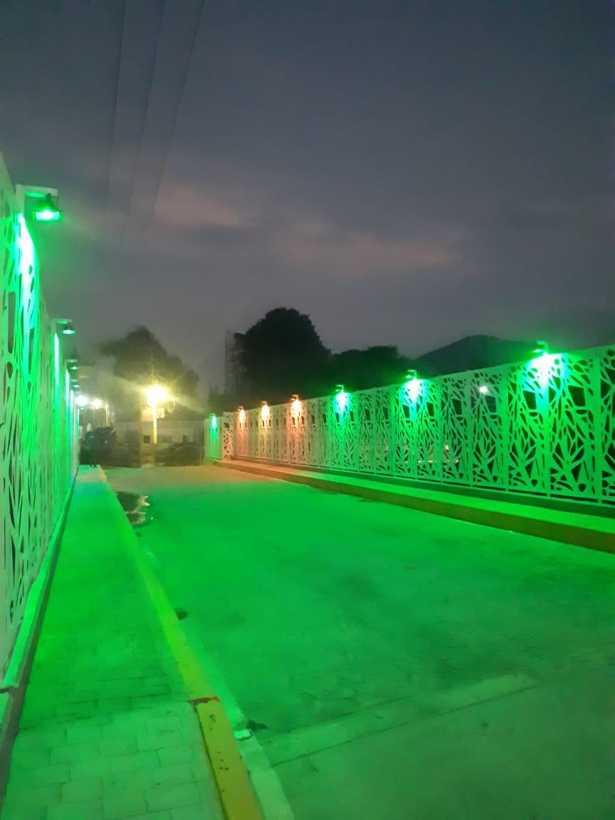 Puente de los suspiros verde