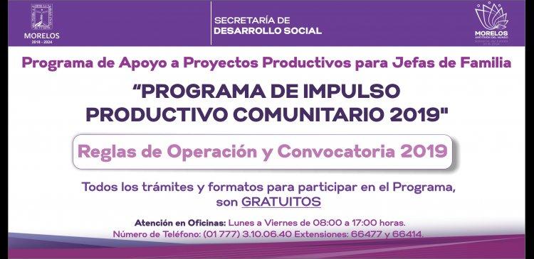 Programa impulso productivo comunitarios