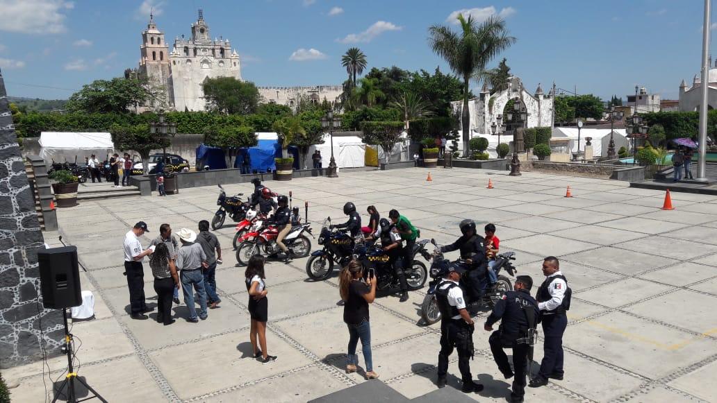 Policias curso motos