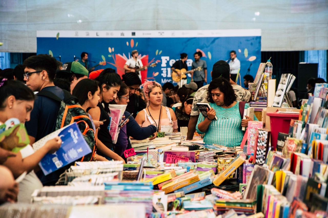 Feria del libro Morelos
