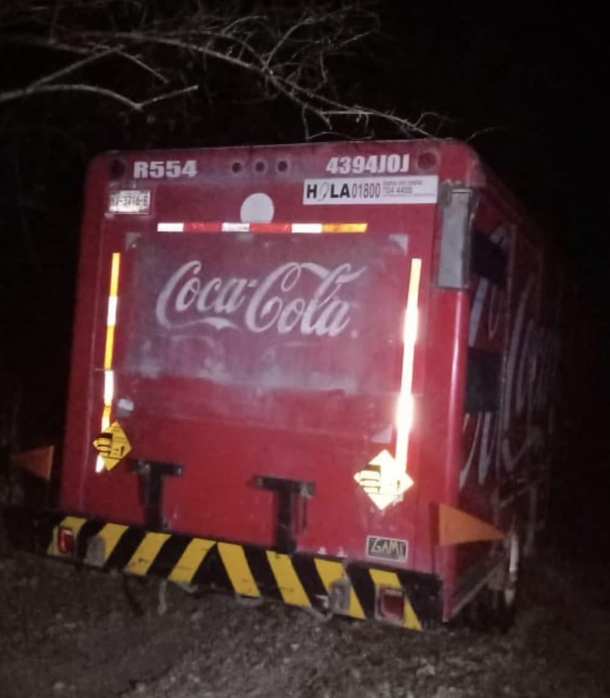 Camioon coca recuperado