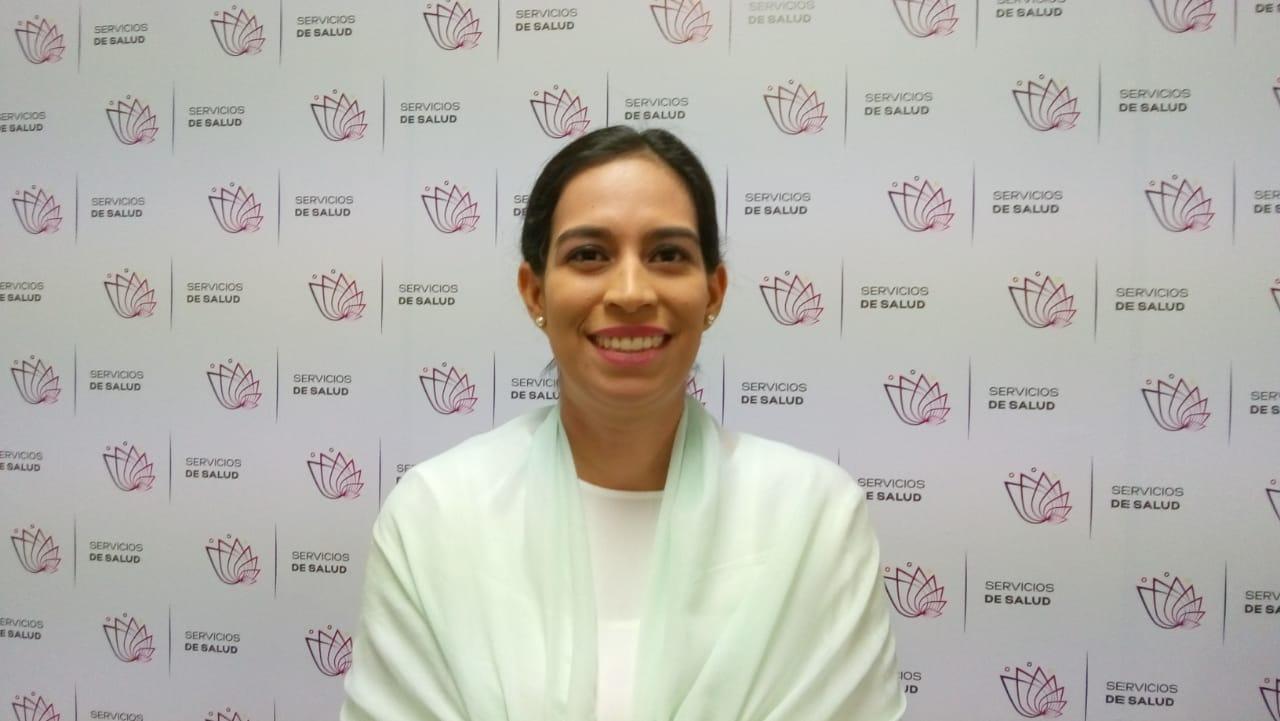 Gloria Elena Carrillo Cruz, coord Estrateg Prevención del Sobrepeso y Obesidad de SSM,