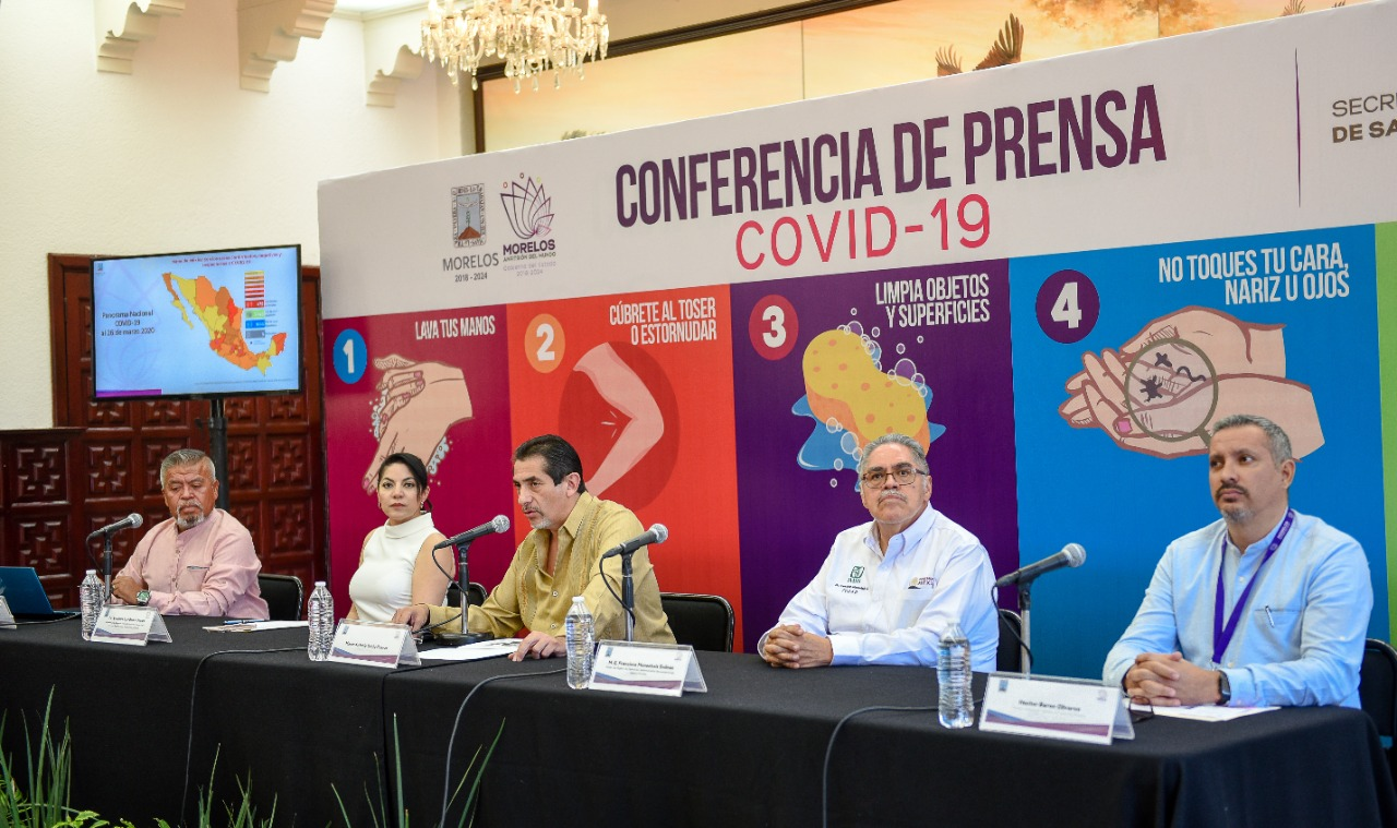Conferencia prensa Coronavirus