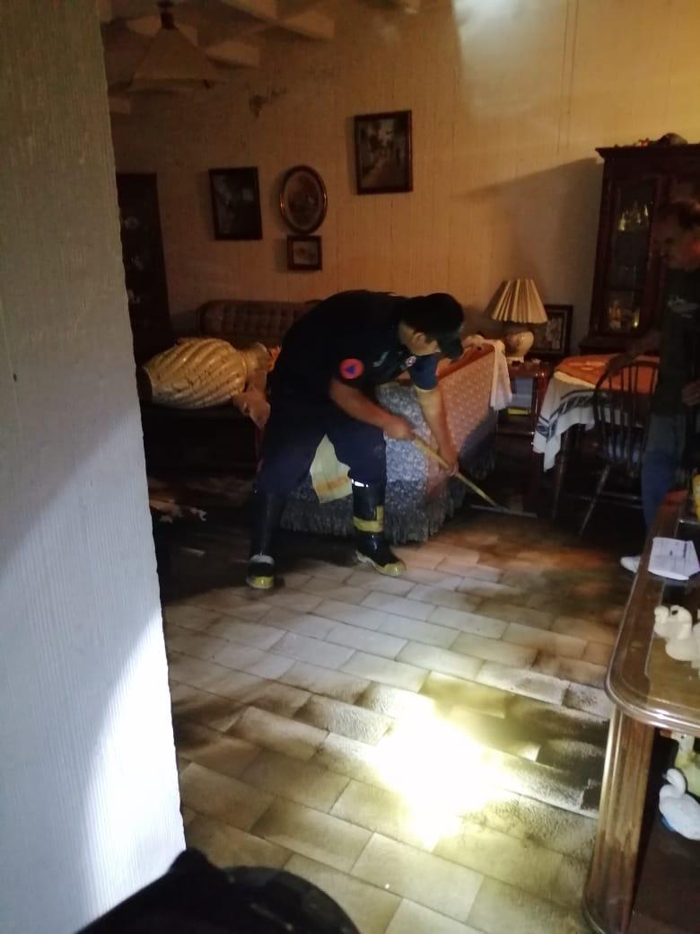 Inundacion lluvia daños menores