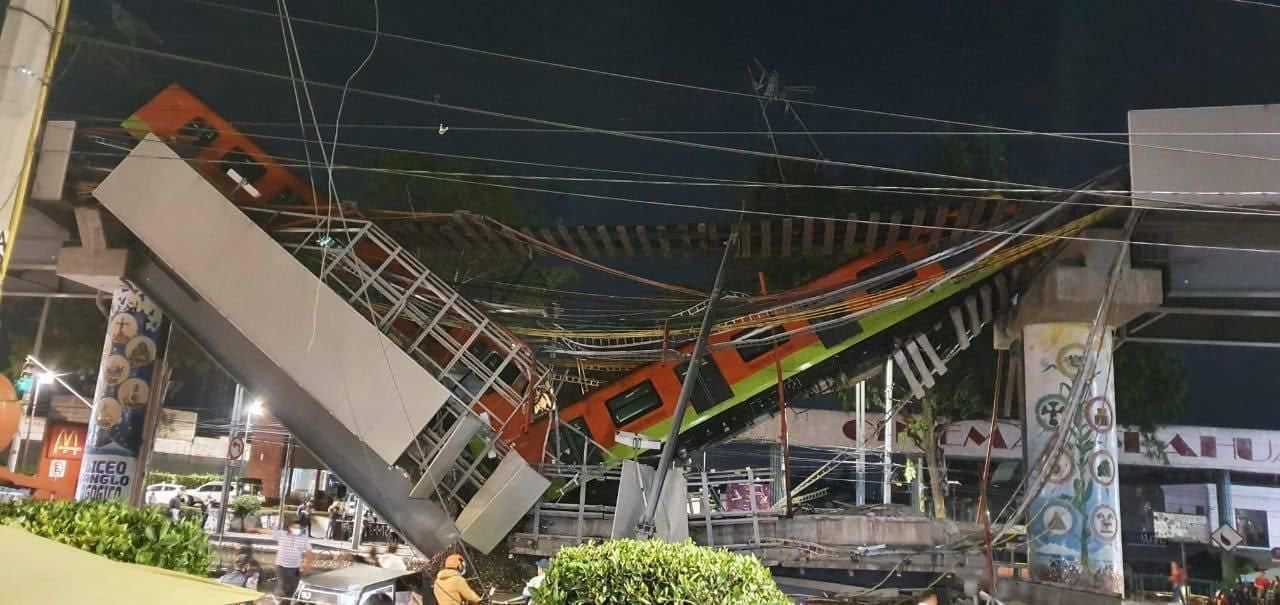 Metro olivos accidente