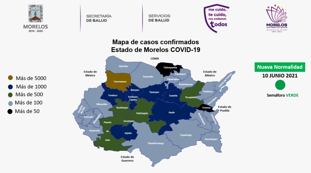 COVID 10 JUNIO 2021